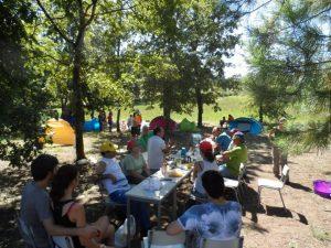 Acampamento @ Parque Minho